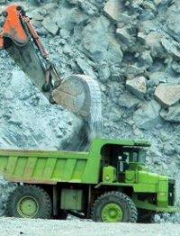 foto de la extracción de minerales