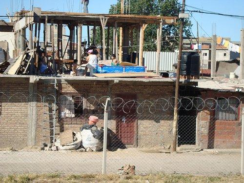 imagen de una villa miseria